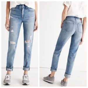 Madewell Perfect Vintage Jeans Distressed